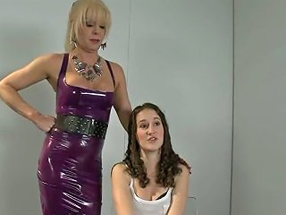 Curly Haired Girl Bonnie Day Ass And Pussy Fucked By Shemale Joanna Jet