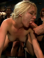 Tall Blonde Amateur Gets...
