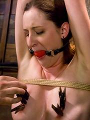 Horny slut Lady Kat made to...