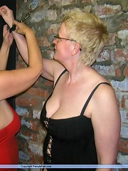 Lesbian whipping