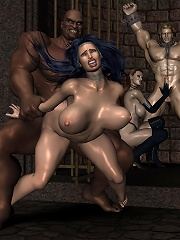 Hardcore 3D BDSM Comix