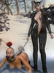 Hot BDSM 3D Comix