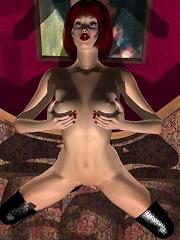 Sexy BDSM 3D Comics