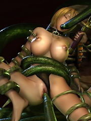 Yuri Girl fucked to orgasm and takes a load of cum
