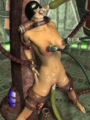 Sexy BDSM 3D Comix