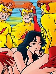 Teen Titans shoot porn