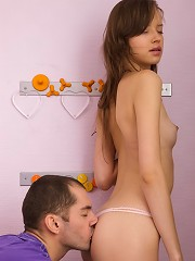 Sweet teenage babe nailed in various positions