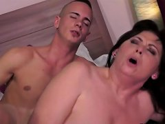 Kinky Granny Loves Much Younger Dick