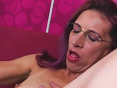 Skinny Granny Fingering Her Ass And Pussy Free Hd Porn 90