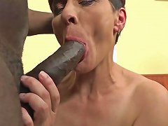 Time For Grannies To Experiment Interracial Anal Sex Dp