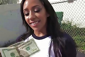 Incredible Busty Babe Priya Price Takes The Money And A