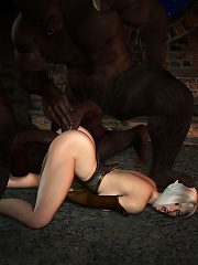 Cover girl gets railed by Prisoners wang