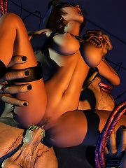 Helpless 3D Nun is fucked by erected dong