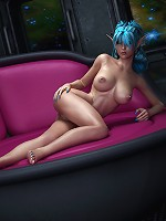 Perfect call girl moans in pain and gets 3D Doctor