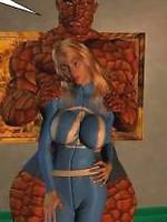 Super Heroines porn comics