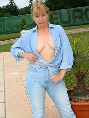 Sexy old grandma gets a good fucking!