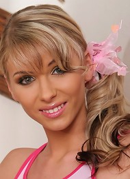 Czech babe slowly strips for you