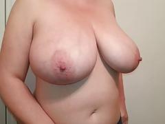 36. G tits bbw slut Lateshay natural boobs