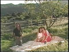 Vintage Christy Canyon Scene