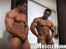 MuscleHunks Exclusive Angel Cordoba is one of the hottest stars of today's muscle entertainment. He keeps growing in every sense of that word. He