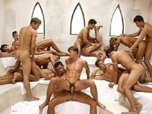 Young muscle hunks great male ogry video