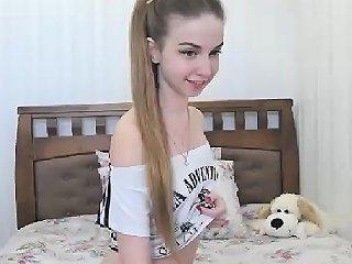 Chubby Schoolgirl Solo Masturbation