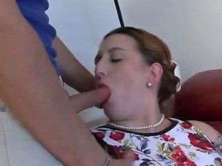 Fat Lady In High Heels Likes To Get A Huge Cock In Her