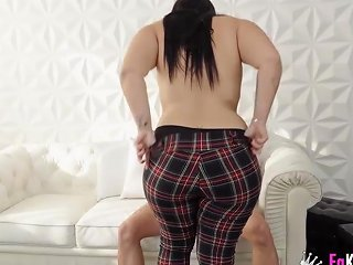 Chubby And Shy Vicky Tries Her First Casting