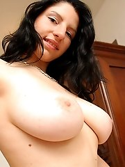 free boobs gallery Katka strips for pumping...