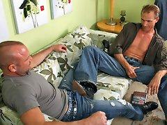 Chad Brock & Troy Halston video - hot mature men fuck