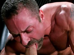"""'Centurion Man of the Year"""" Bo Knight and Carlos Morales taking each other on in a flip-flop fuckfest that will leave you cum soaked and bre"""