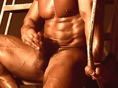 Fantasy Muscle Daddy Hans Hoffmann looks like a trucker, is built like a powerlifter, and thinks like a construction site foreman - it's all abou