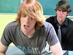 18 years old cutie twink surrender his tight asshole to teacher