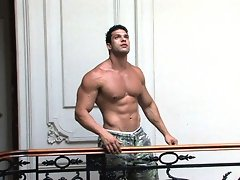 Not all musclemen are fierce, and hard, and brutal, and mean. In fact, very few are - but most LOOK that way (which may be the reason you love 'e