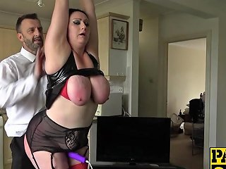 Horny Bitch Slapped While Gagging On Cock And Doggy Styled Porn Videos