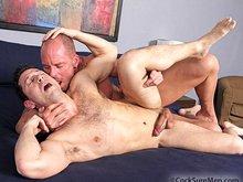 Muscle and hairy men Mitch Vaughn and Ari Silvio