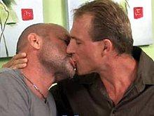 Mature gay bears Chad Brock & Troy Halston fuck