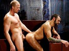 Muscle bears Steve Cruz & Scott Tanner