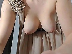Girl Nice Tits Get Orgasm With Tips amateur sex