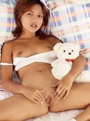 Naked Thai teen
