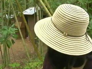 Asian Japanese Mature Milf Fuck With Beggar In The Forest Toilet
