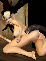 Ravishing 3D Nurse loves Head-hunters cock over and over