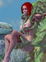 The World of Warcraft porn 3D monster is too much furious not to bone till jade feels like sucked fruit and wont be able to move a limb