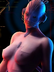 Fascinating Slut slams 3D Devil