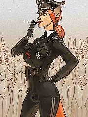 Futanari femdom cartoon