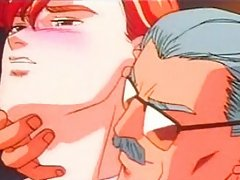 Young anime gay man gets molested by an older gay man in club