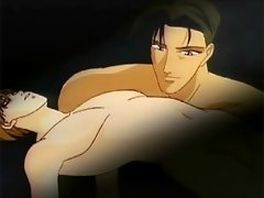Two gay anime men lay naked and touch eachoter in dreams