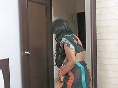 Amateur Indian Mature Shows Her Pussy