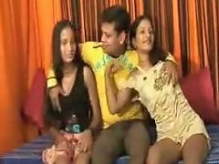 Indian Tempted By Two Gals Upornia Com
