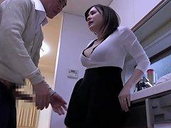 Aimi Yoshikawa Offers Her Body To A Mature Japanese Businessman